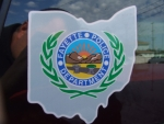 Fayette Ohio Police Badge Decal
