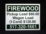 Firewood Sign
