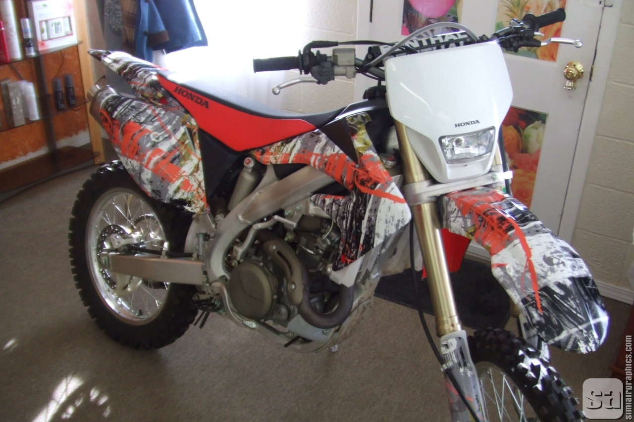 Welcome Simi Air Vinyl Graphics - Vinyl skins for motorcycles